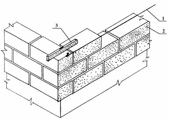 правила кладки блоков