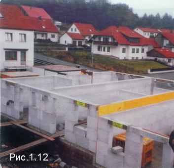 строительство из крупных блоков Итонг