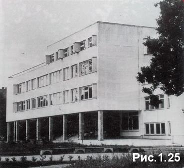 школа из газобетонных панелей в Риге