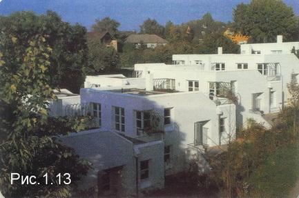 дома из блоков Хебель в Германии
