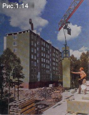 7-этажный дом из блоков с фактурой