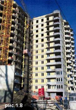 многоэтажные дома в СПБ