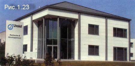 офисное здание из панелей Хебель